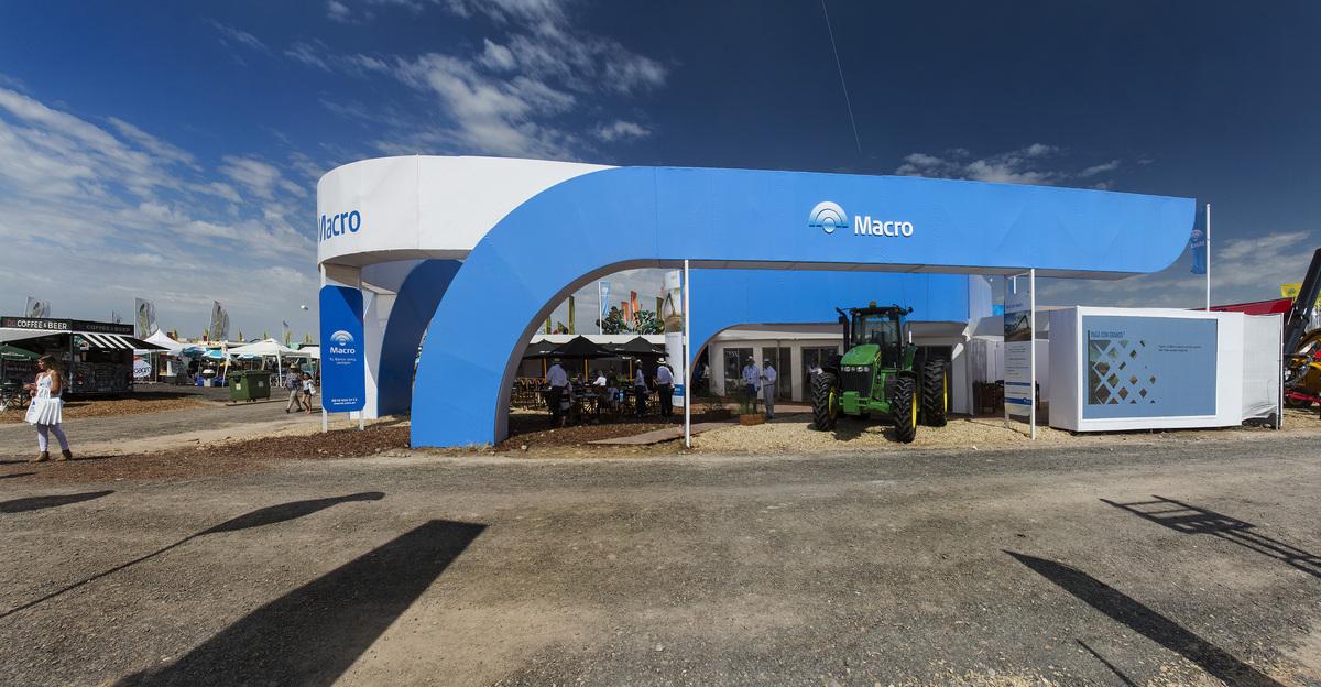 Expoagro Stands : Diseño y construcción de stand banco macro expoagro cuatro d